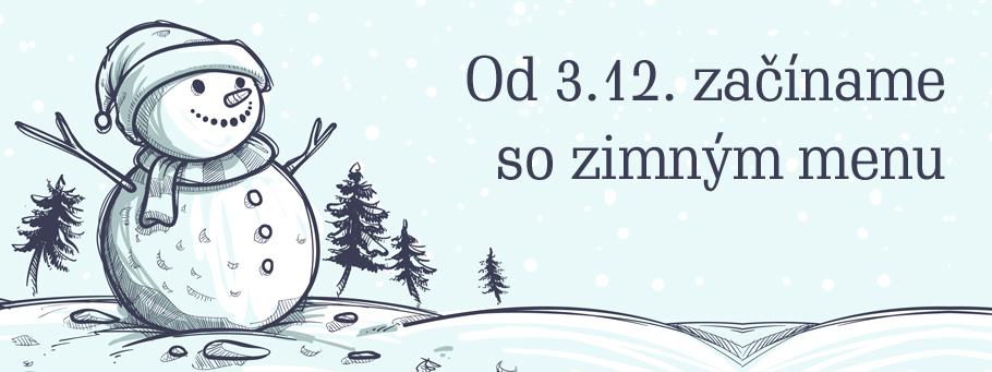 Banner zimné menu 2016